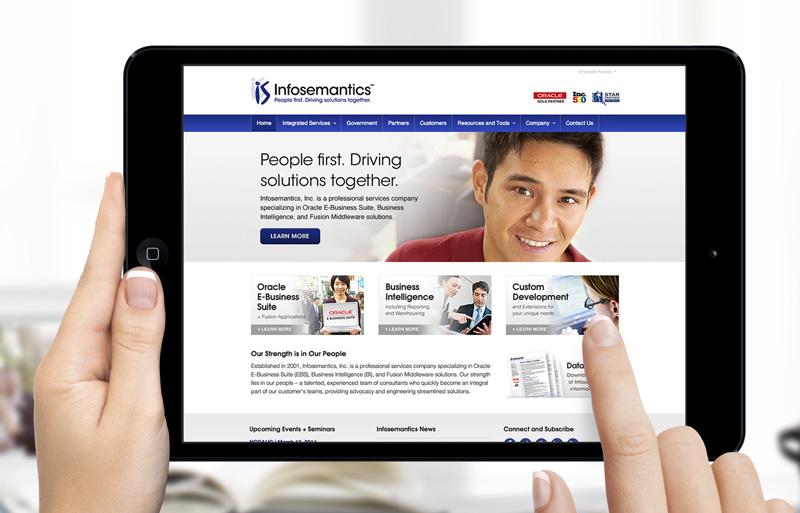 infosemantics wordpress website