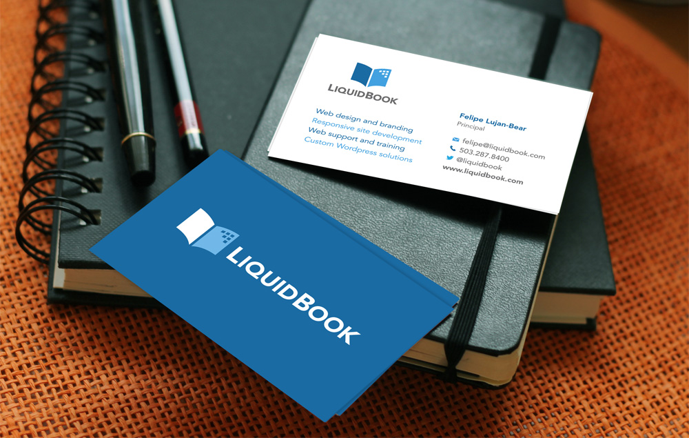 liquidbook business cards