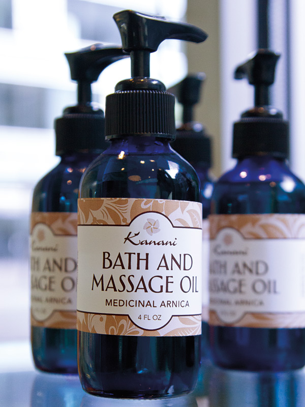 Kanani Bath and Massage Oil Labels  by Deluxe Creative Co.