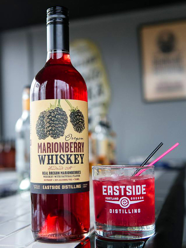 Marionberry Whiskey Label by Deluxe Creative Co.
