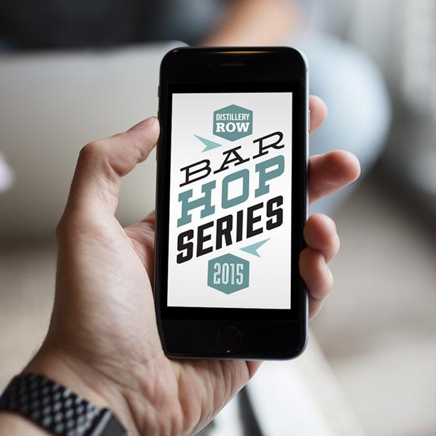 distillery row bar hop series