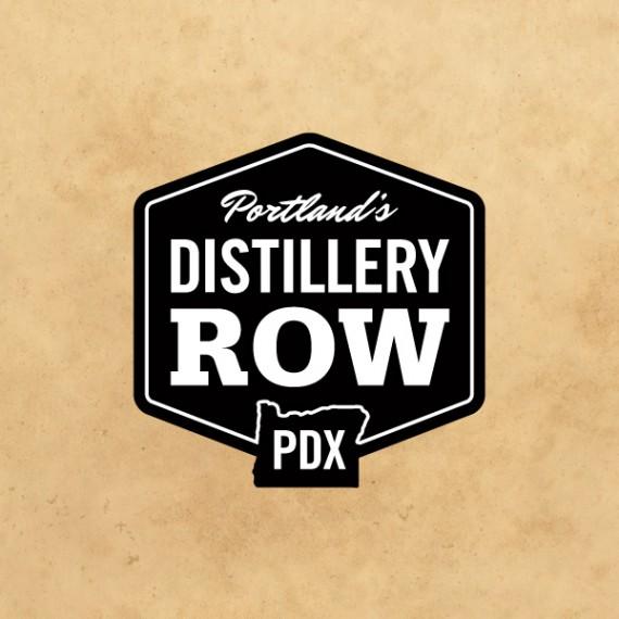 Distillery Row logo  by Deluxe Creative Co.