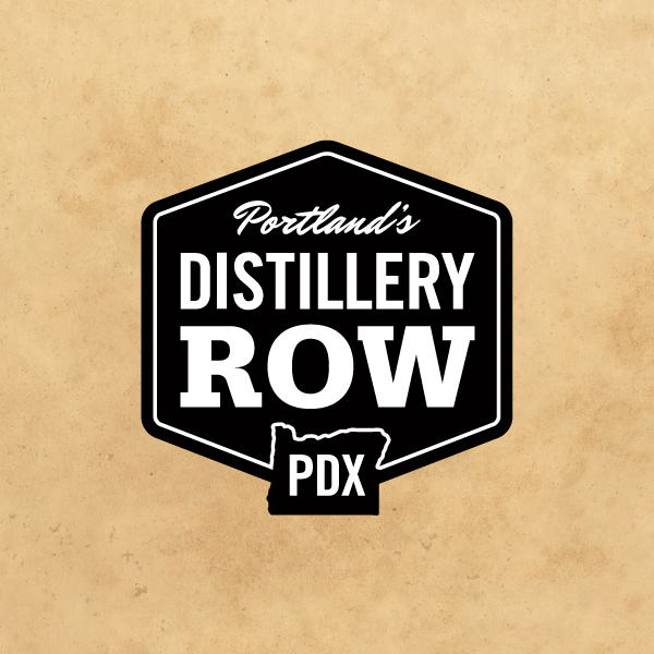 Distillery Row logo  by Deluxe Creative Co.