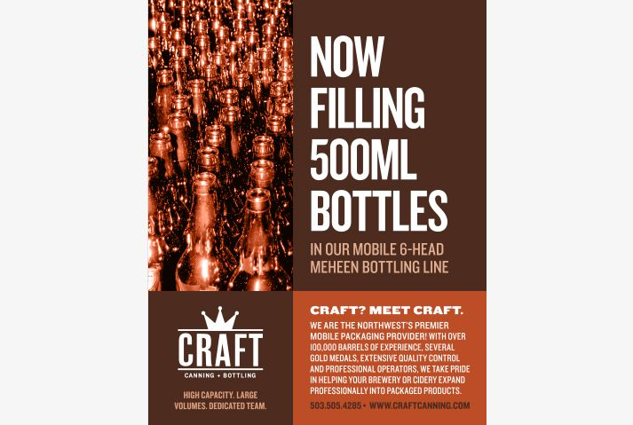 Craft Canning + Bottling Ad